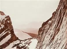 BRECHE DE LA MEIJE DRAMATIC French Alps 1880s