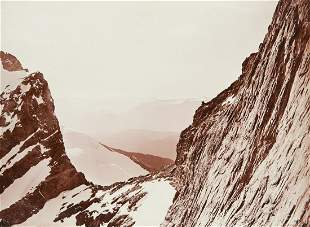 BRECHE DE LA MEIJE DRAMATIC French Alps 1880s