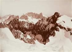 3 VIEWS Le Meije, Pelvoux French Alps vintage