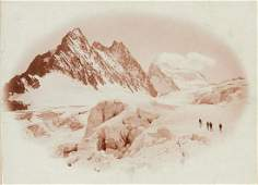 VITTORIO SELLA Man and Nature Crevasses of Glacier