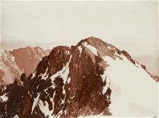 2 PRINTS Pyramide Durand French Alps 1880s