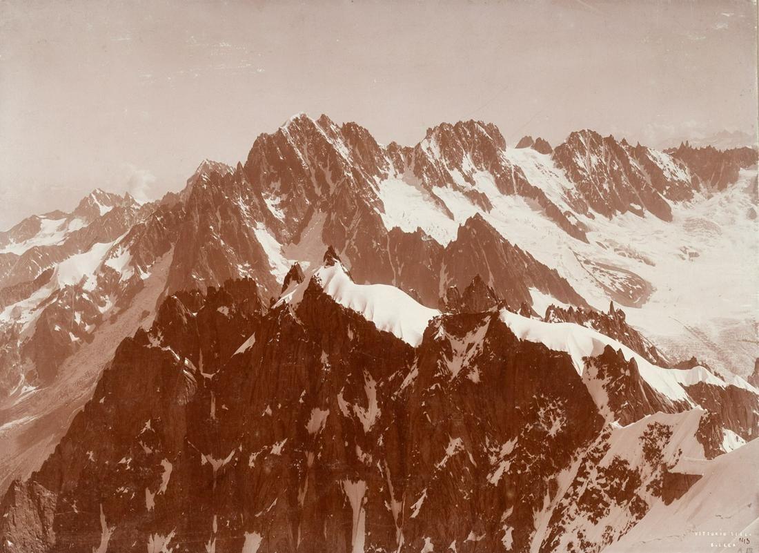 3 PRINTS Dent du Geant Mont Blanc Swiss Alps