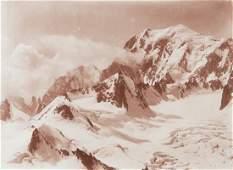 2 PANEL Panorama Tour around Mont Blanc Vintage