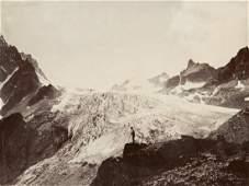3 VITTORIO SELLA Prints Orny Glacier Mont Blanc Massif