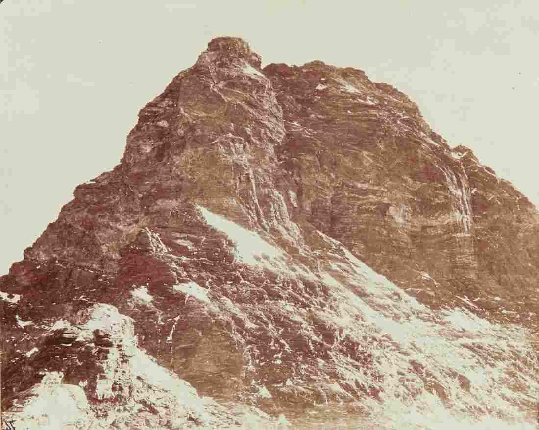 3 VIEWS OF Matterhorn 1880s