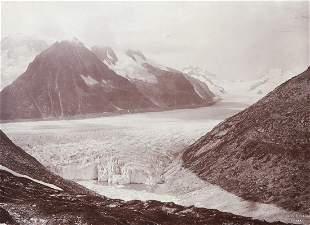 STUNNING MARJOLEN Glacial Lake Bernese Alps