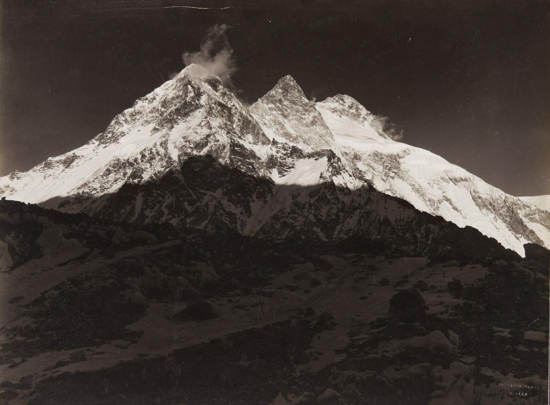 HIMALAYAS KARAKORAM Broad Peak at Sunset 1909
