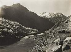 2 VIEWS HIMALAYAS Dras Valley & Pumah River 1909