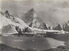 HIMALAYAS KARAKORAM Masherbrum, from Baltoro Glacier