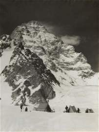 K2 WESTERN WALL and Camp OVERSIZE 1909