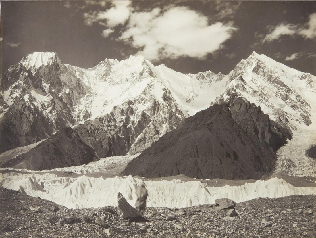HIMALAYAS KARAKORAM Broad Peak 1909 Spectacular