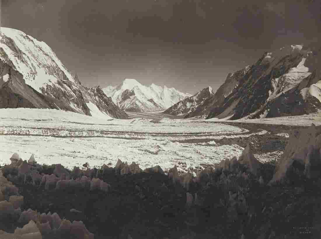 BRIDE PEAK & Godwin-Austen Glacier 1909 Sublime