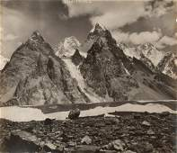 HIMALAYAS GASHRBRUM IV 1909 17th Highest Peak