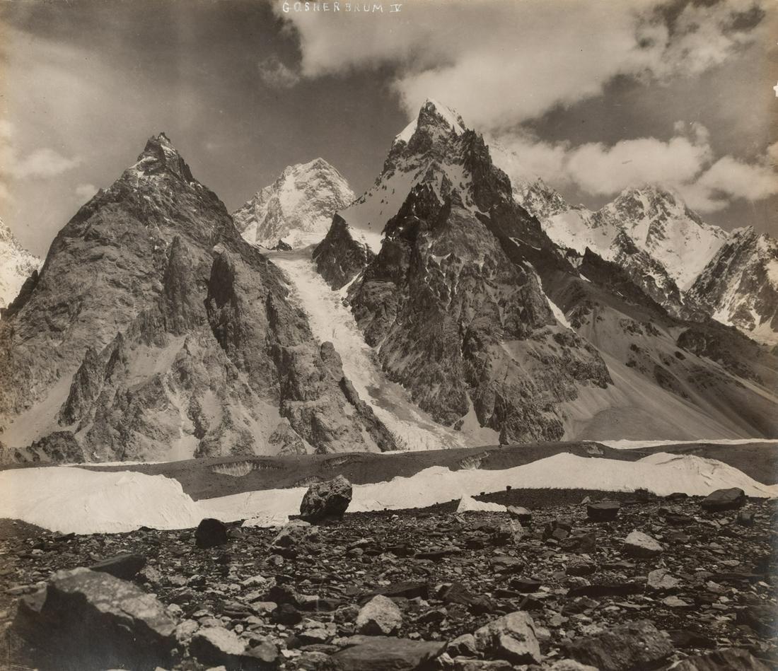 HIMALAYAS GASHRBRUM IV 1909 17th Highest Peak