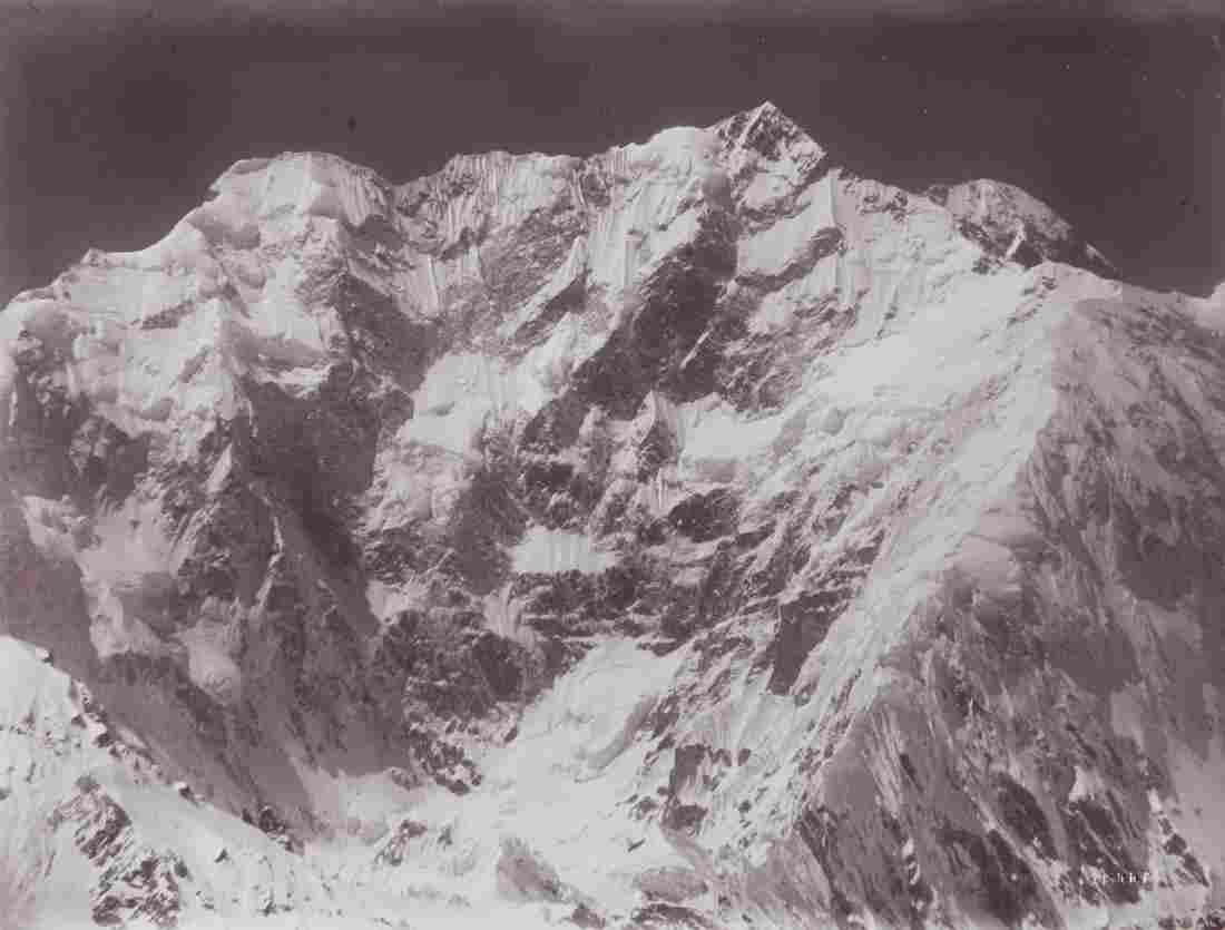 2 HIMALAYAS Kangchenjunga & Pandim 1899 Sublime