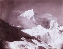 HIMALAYAS Siniolchum 1899 Sublime