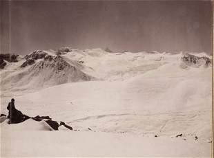 6 PANEL Panorama Kangchenjunga 1899