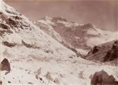 2 VIEWS HIMALAYAS Kangchenjunga 1899 Spectacular