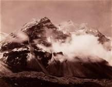 HIMALAYAS Western Spur Kangbachen 1899 sublime
