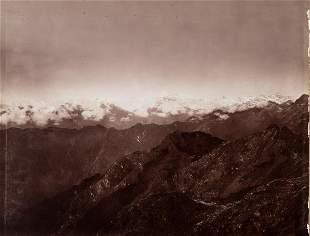 4 PANEL PANORAMA Everest Kangchenjunga 1899