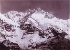 HIMALAYAS Kangchenjunga from S.W. 1899 sublime