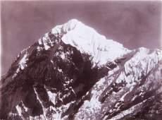 2 HIMALAYAS Pandim 21,2952 ft. 1899 spectacular