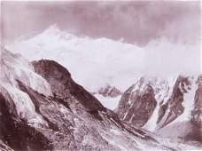 HIMALAYAS Kangchenjunga from Guicha La 5000 meters 1899