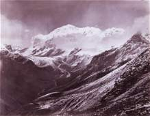 HIMALAYAS Kabru (Cloud Effect) 1899