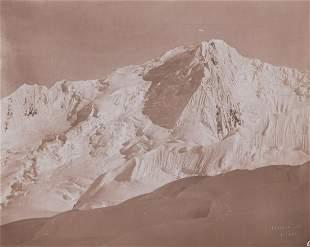 MT ST. ELIAS ALASKA, East Side Newton Valley 1897