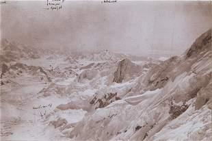 MT ST. ELIAS ALASKA, Newton Valley Peaks 1897