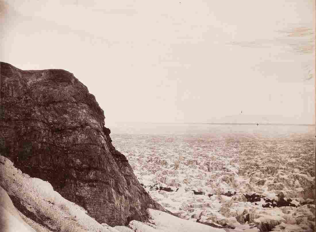 4 PANEL PANORAMA MT ST. ELIAS RANGE Alaska 1897