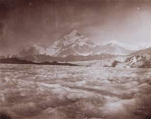 MT ST. ELIAS ALASKA from Malaspina Glacier 1897