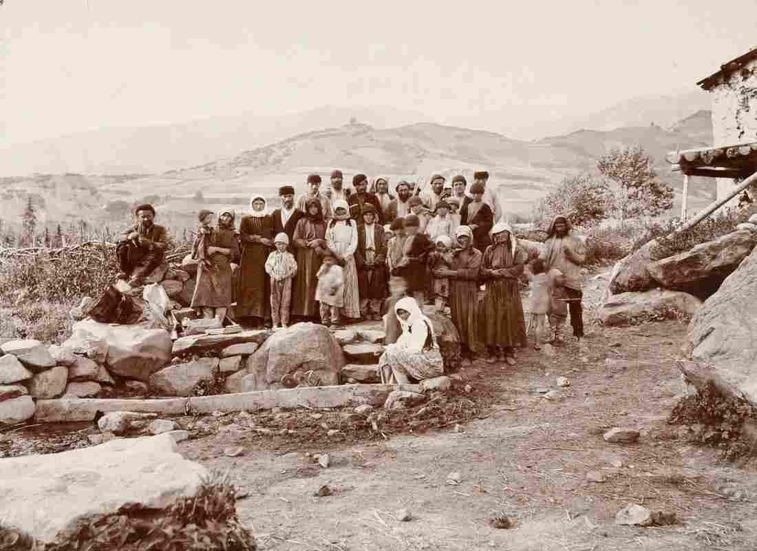 VILLAGERS OF EZERI, Southern Valleys 1889