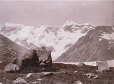 3 Prints SELLA'S Camp, Bezengi Glacier Valley