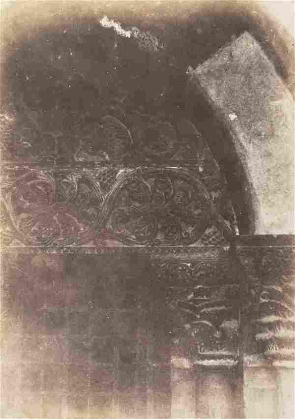AUGUSTE SALZMANN JERUSALEM Salt print 1850s