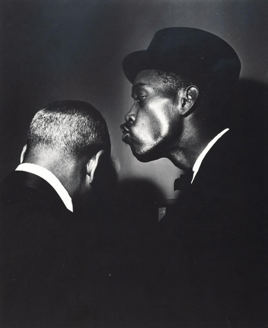 TERRY CRYER Sonny Stitt and Coleman Hawkins 1950s