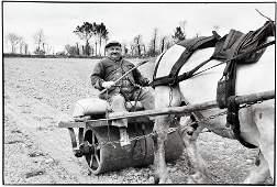 HENRI CARTIER-BRESSON A Happy Farmer 1960 Joyful