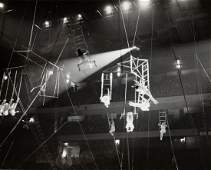 BEN HELLER ACROBATS 1939 Light & Lines abstract