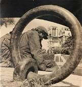 ALBERT MONIER He Left Alone in the Night 1950s