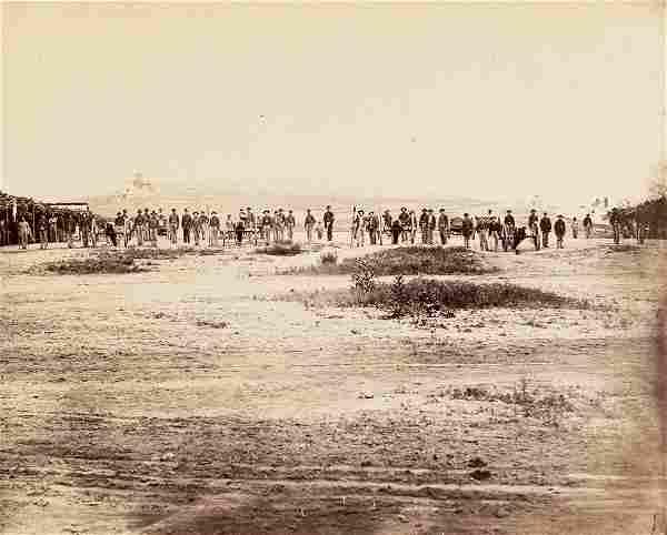 ISAAC BONSALL CIVIL WAR 20th Indiana Battery 1863