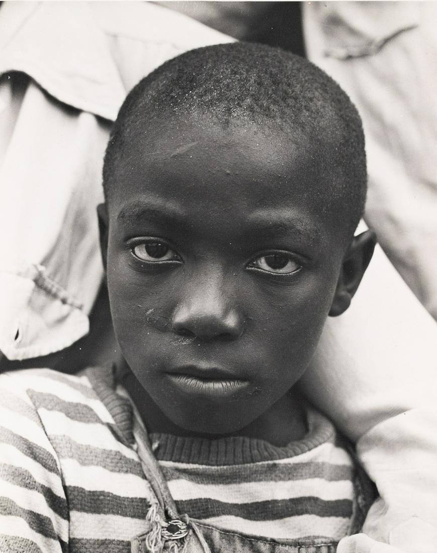 JOHN COLLIER Migrant Child Portrait 1942