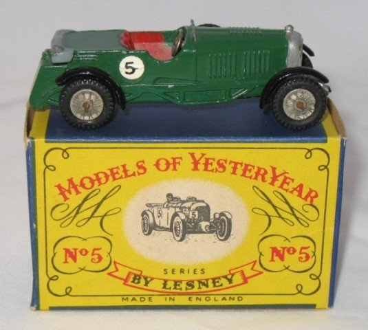 6: Matchbox Yesteryear Y5-1 Le Mans Bentley - Issue 1