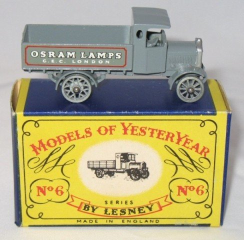 9: Matchbox Yesteryear Y6-1 AEC Y type Lorry - Issue 6