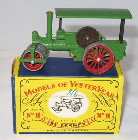 17: Matchbox Yesteryear Y11-1 Aveling Steam Roller - 5