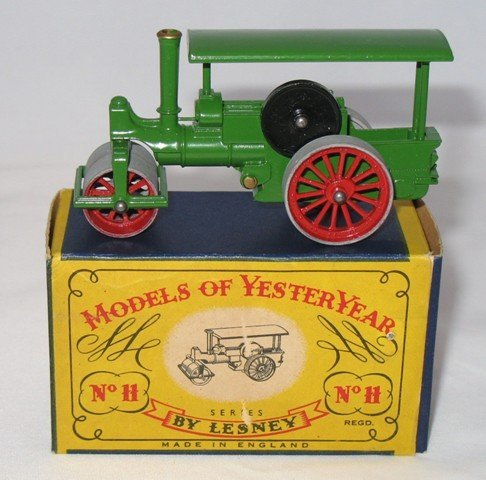 18: Matchbox Yesteryear Y11-1 Aveling Steam Roller - 6