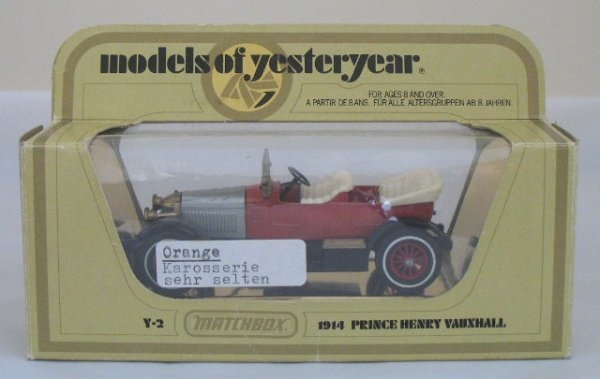 24: Matchbox Yesteryear Y2-3 Prince Henry Vauxhall - 13