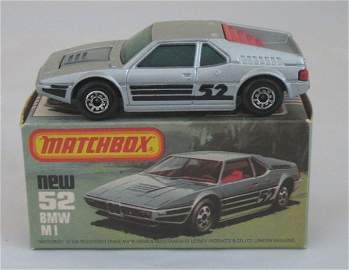 413: Matchbox Superfast 52c BMW M1, rare GREEN glass