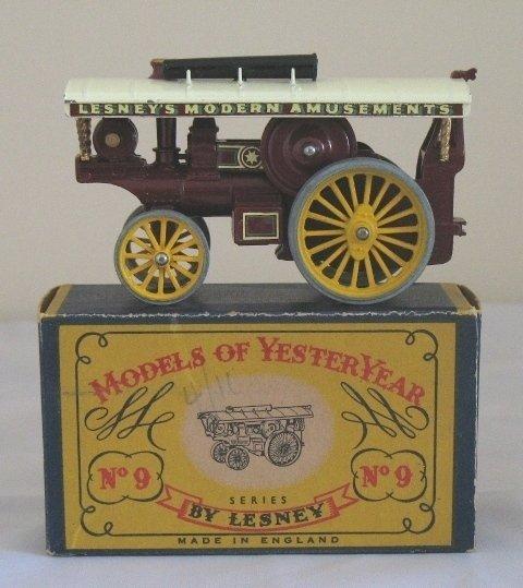 11: Matchbox Yesteryear Y9-1 Fowler Showmans Engine