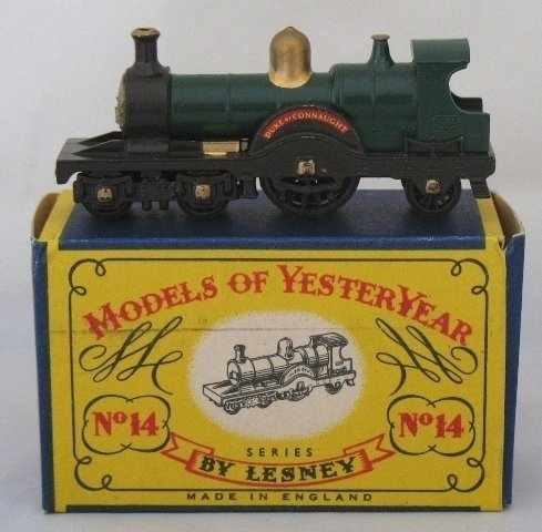 14: Matchbox Yesteryear Y14-1 1903 'Duke of Connaught'