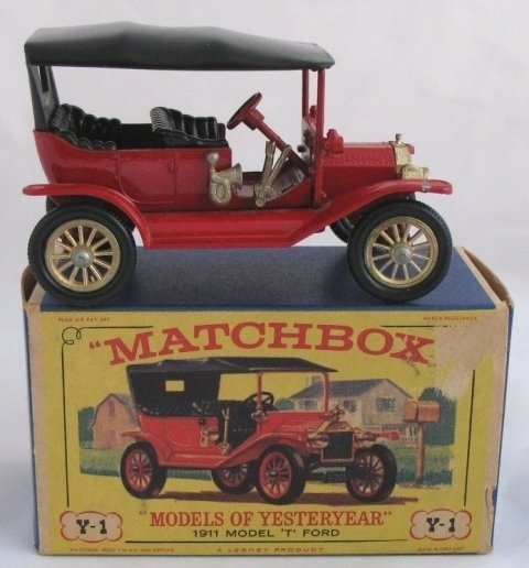 15: Matchbox Yesteryear Y1-2 Model 'T' Ford TWIN LEVERS